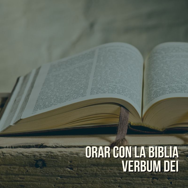 Oración con la Biblia Verbum Dei